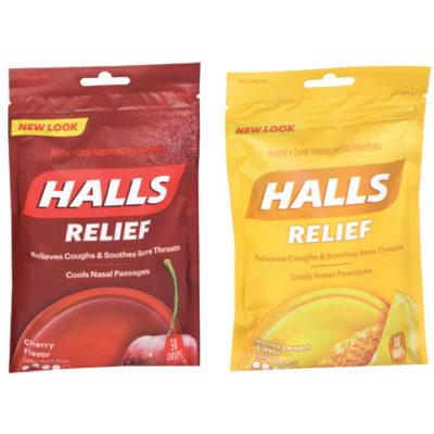 halls relief